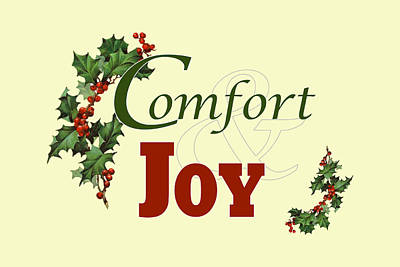 Comfort And Joy Art Print