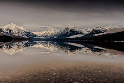 Photograph - Lake Mcdonald Glacier National Park by Greg Wyatt