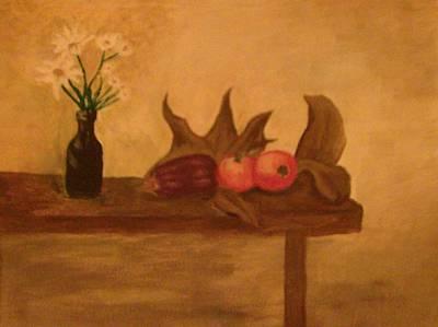 Painting - Comfort by Helen Vanterpool