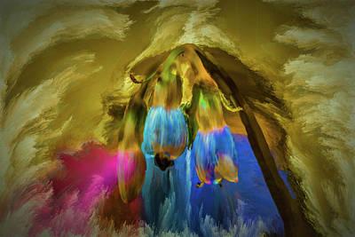 Digital Art - Comfrey Paint #h8 by Leif Sohlman