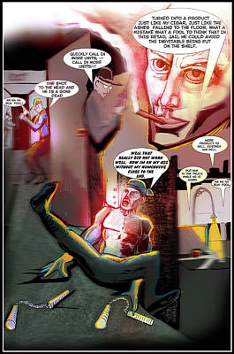 Digital Art - Comic Page Edit by John Jr Gholson