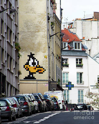 Photograph - Comic Paris by Perry Webster