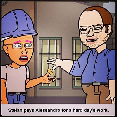 Comics Photograph - Comic With Friends.#bitstrip #comic by Alessandro  Lo Monaco