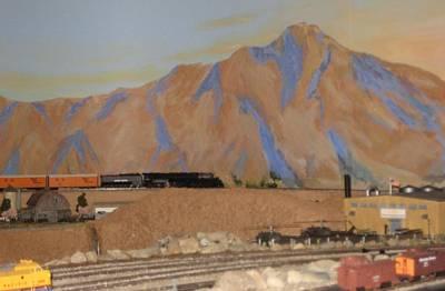 Magnificent Train Room Art Print