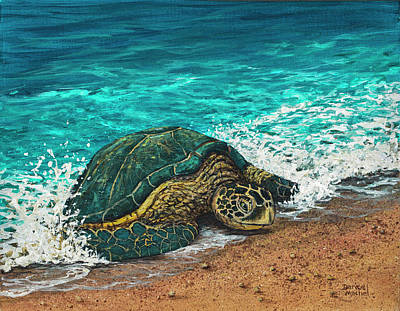 Painting - Coming Ashore by Darice Machel McGuire