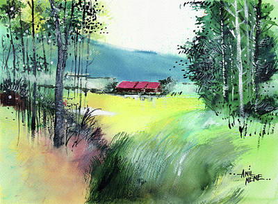 Painting - Coming Back Home by Anil Nene