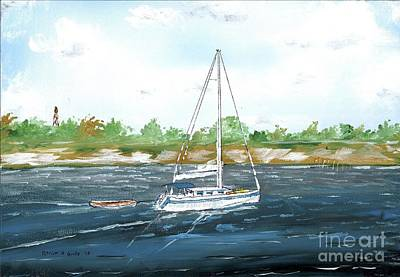 Painting - Coming Back To The Isle Of Palms by Patrick Grills