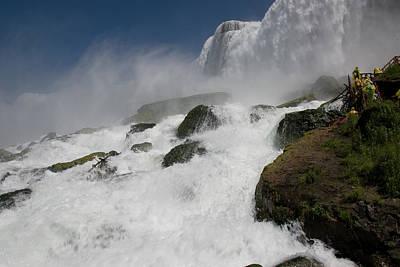 Photograph - Coming Close To Niagara Falls by Jeff Folger
