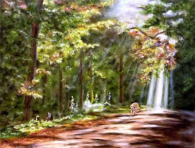 Painting - Coming Home by Dr Pat Gehr
