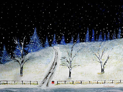 Coming Home For Christmas Art Print