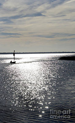 Shem Creek Photograph - Coming Home by Skip Willits