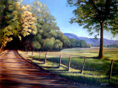 Blue Ridge Painting - Coming Home by Susan Jenkins