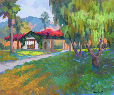 Painting - Coming Home To Traditions by Diane McClary
