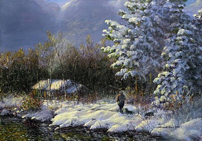 Painting - Coming Home by Valentin Katrandzhiev