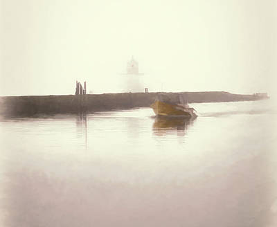 Photograph - Coming In From The Fog by Jeff Folger