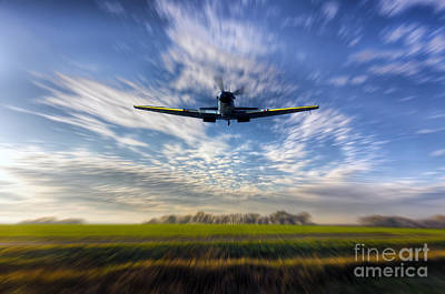 Royal Air Force Digital Art - Coming In Low by J Biggadike