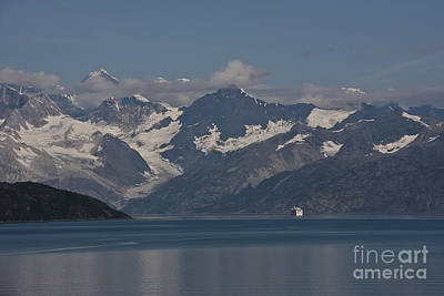Photograph - Coming Into Glacier Bay by Stan and Anne Foster