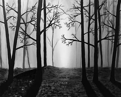 Coming Light Art Print