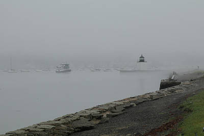 Photograph - Coming Out Of The Fog by Jeff Folger