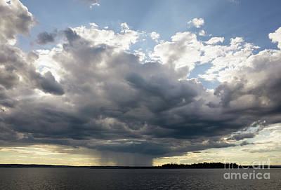 Photograph - Coming Storm, Casco Bay, Maine  #130195 by John Bald