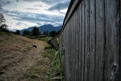 Fence Photograph - Coming To An End by Cameron Seguin