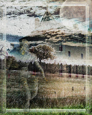 Haunted Digital Art - Coming To Get You by Mimulux patricia no No