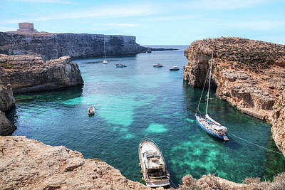 Comino Tower - Comino Art Print by Joana Kruse