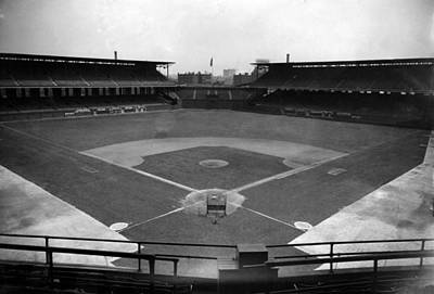 Bh History Photograph - Comiskey Park, Baseball Field That by Everett