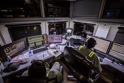 Photograph - Command Center by Jonas Wingfield