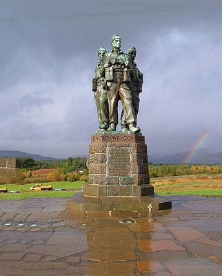 Photograph - Commando Memorial by JLowPhotos