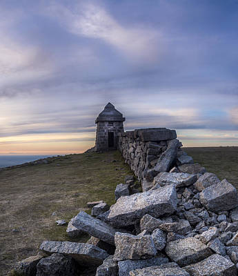 Photograph - Commedagh Summit Shelter by Glen Sumner