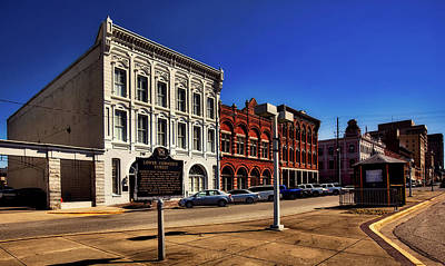 Photograph - Commerce Street - Montgomery Alabama by L O C