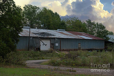 Photograph - Commercial Building In Anderson Sc by Dale Powell