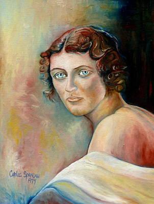 Commission Me Your Face Art Print by Carole Spandau