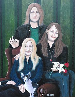 Painting - Commission Portrait by John Lyes