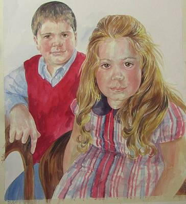 Painting - Commissioned Portrait by Gloria Turner