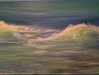 Painting - Commissioned Seascape by Heather Roddy