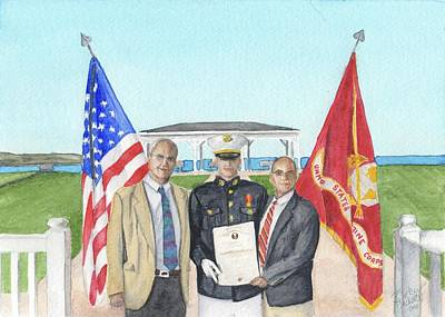 Painting - Commissioning by Betsy Hackett