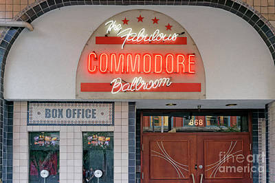 Photograph - Commodore Ballroom Vancouver by John  Mitchell