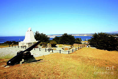 Photograph - Commodore Sloat Monument Was Constructed In 1910, Presidio Of Monterey 2009 by California Views Mr Pat Hathaway Archives