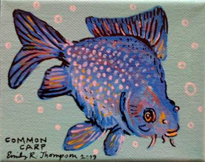 Common Carp Art Print by Emily Reynolds Thompson