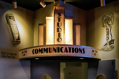 Photograph - Communications Studio Of Old by Bill Swartwout Photography