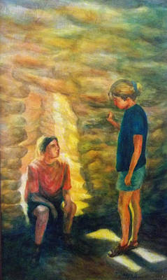 Painting - Communion by Becky Chappell