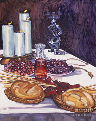 Painting - Communion - Lwfic by Lewis Williams OFS
