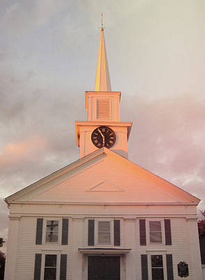Photograph - Community Church by Jamart Photography