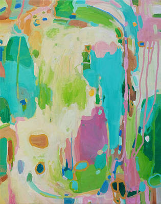 Intuitive Painting - Community Pool by Stacy Vosberg