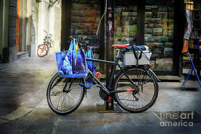 Photograph - Commuter Shopping Bicycle by Craig J Satterlee