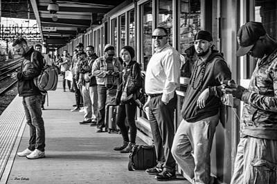 Photograph - Commuters by Fran Gallogly