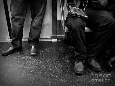 Photograph - Commuters - Subways Of New York by Miriam Danar