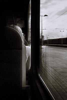 Photograph - Commuting Lives by Alfio Finocchiaro
